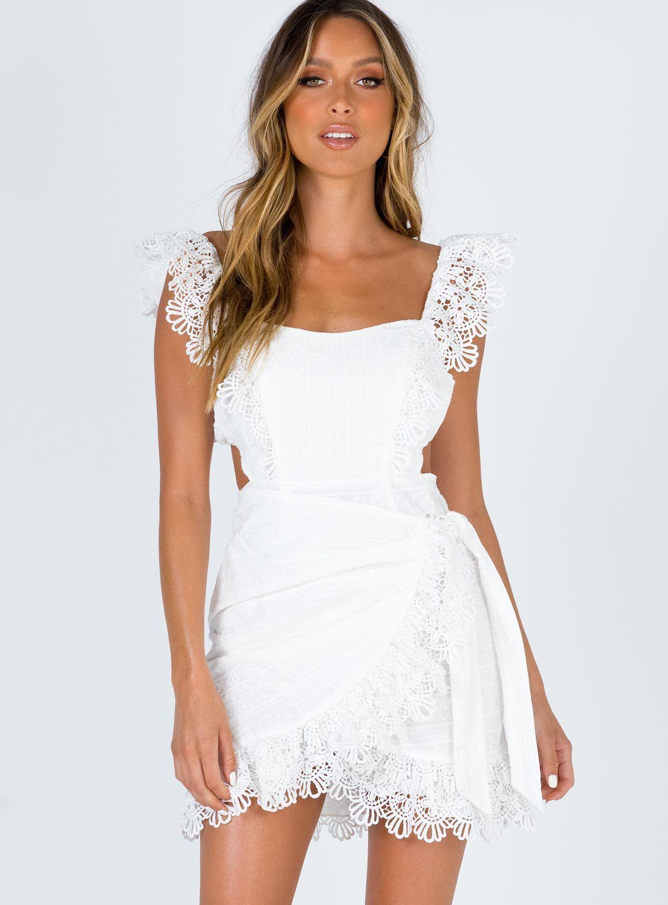 Joelle mini dress mini dress dresses white mini dress