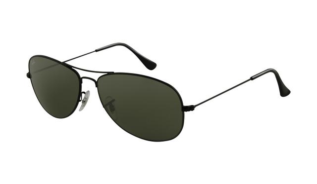 b0a396f3974 Ray Ban RB3362 Sunglasses Shiny Black Frame Crystal Green Polarized Lens