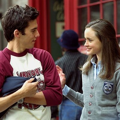 Rory and Jess- I liked her best with him :-)