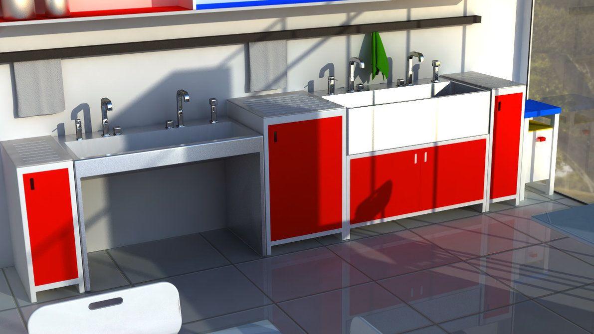 Attractive Art Classroom Concept   Sink By Emelyjensen
