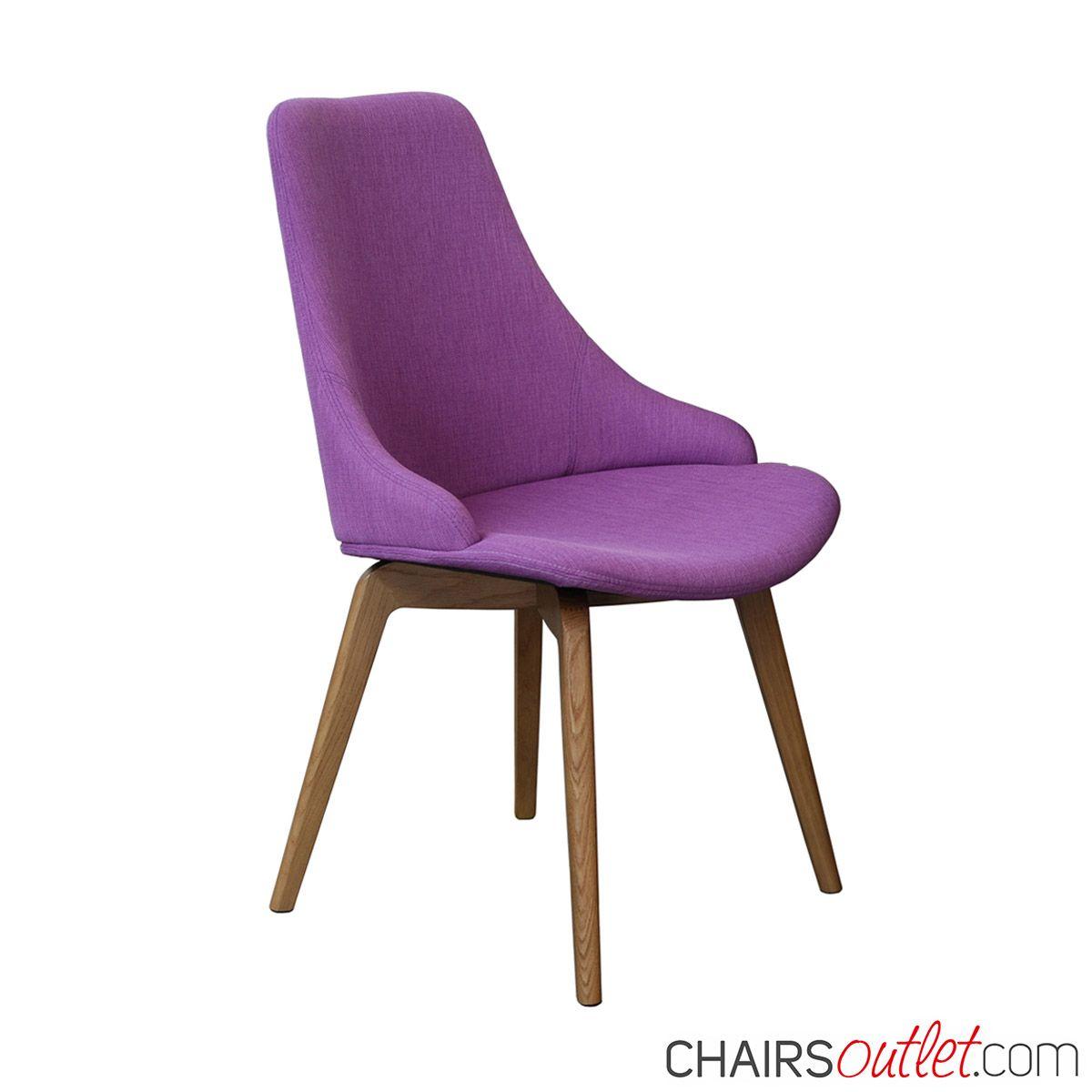Sedie Da Soggiorno In Legno.Sedia Da Soggiorno Madeinitaly Viola Ultraviolet In Legno
