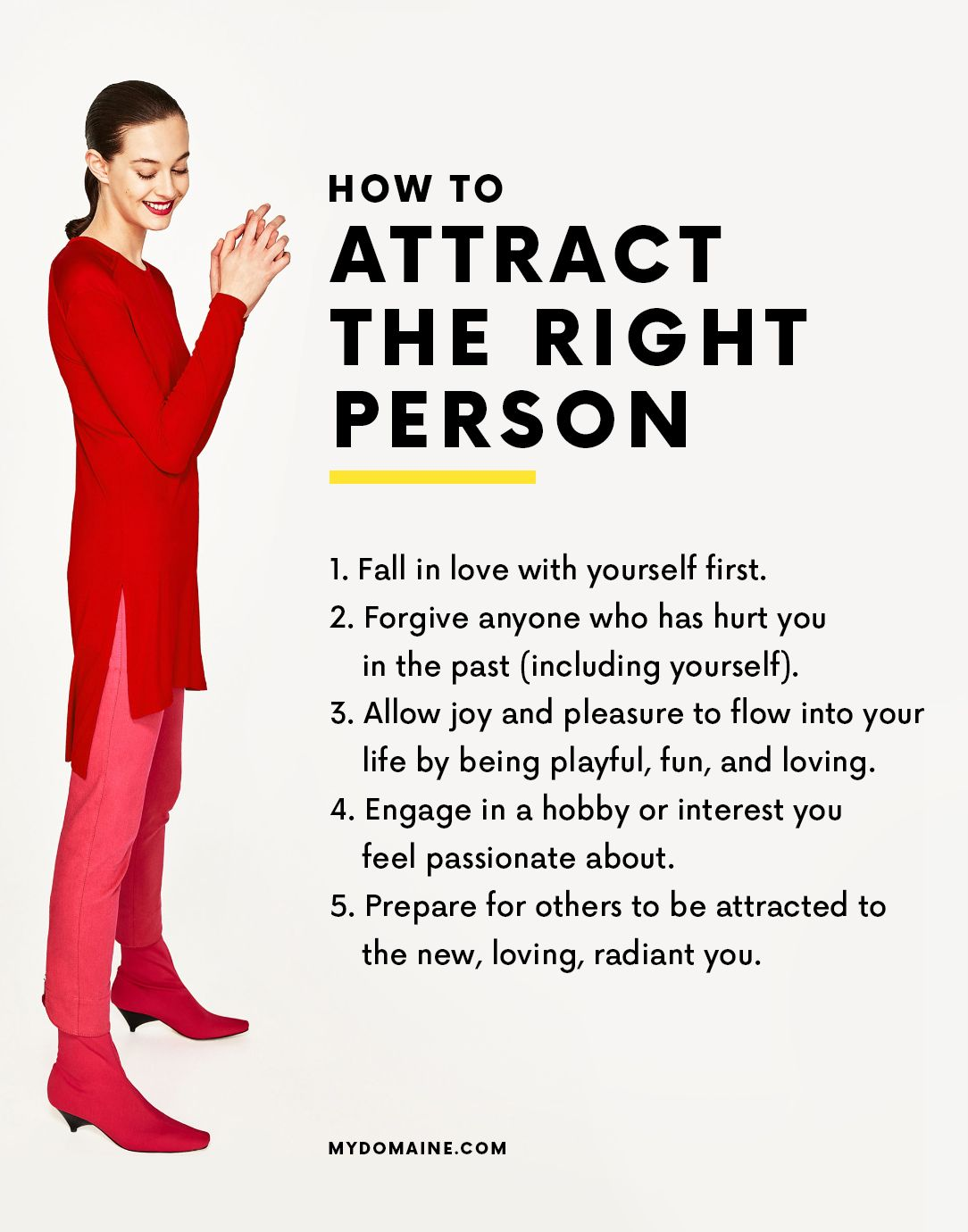 How to attract the right guy