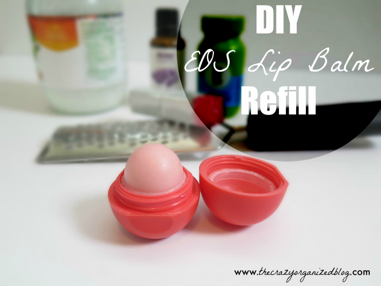 Diy Lip Balm Refill Using Eos Containers For A Fraction Of