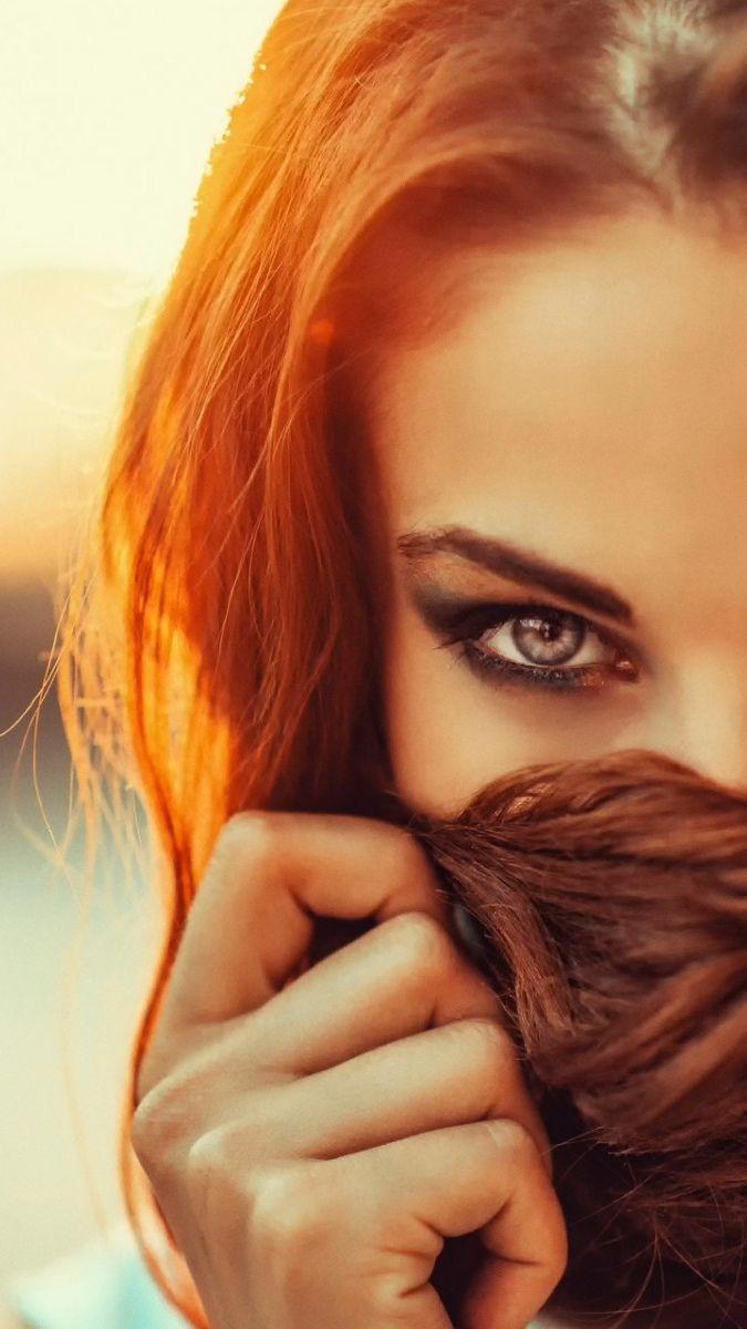 Beautiful Eyes Girl Iphone Wallpaper