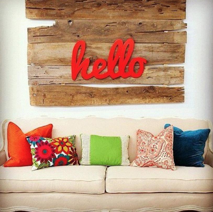 ideas para decorar tus paredes ideas Pinterest Ideas para