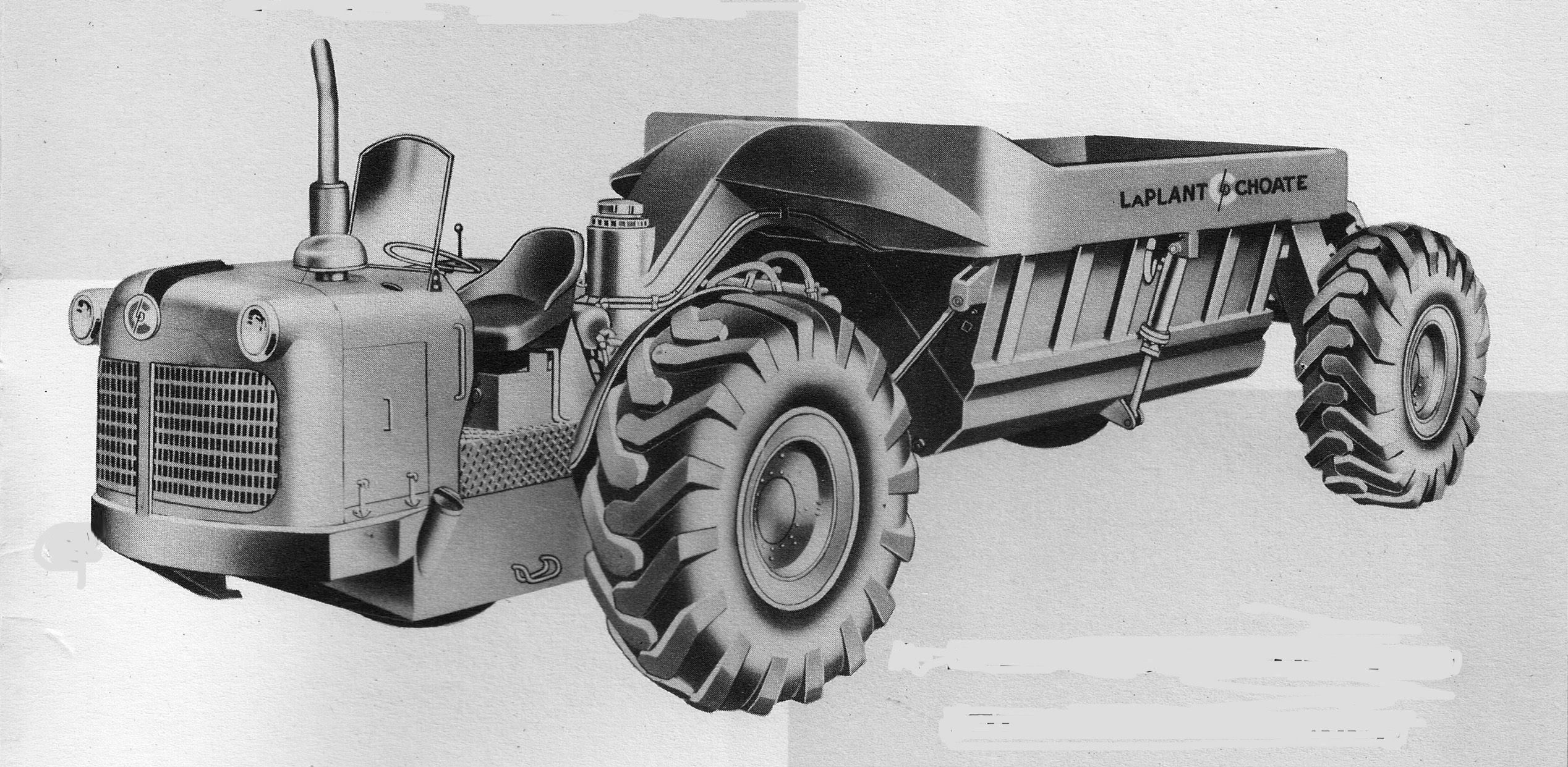 LaPlantChoate Earth moving equipment, Wagon, Monster trucks