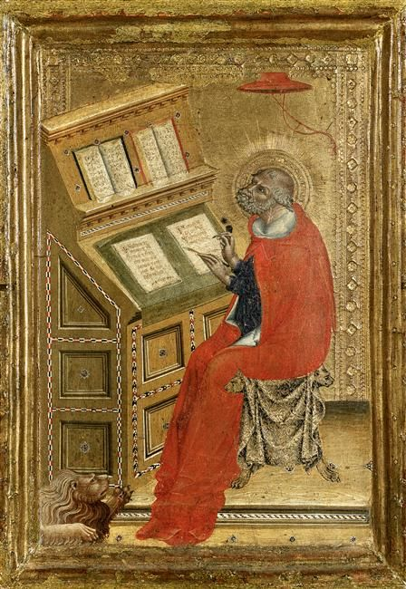 Saint Jérôme Giovanni di Paolo (vers 1403-1482) , peintre