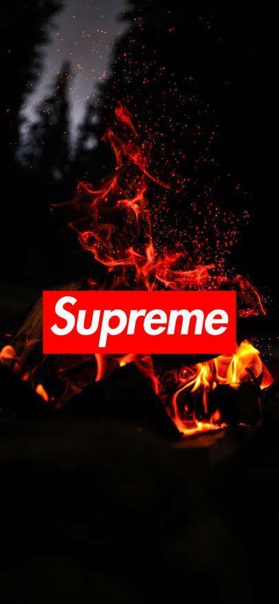 Supreme Wallpaper Flame 1125 2436 Supreme Wallpaper Supreme Iphone Wallpaper Badass Wallpaper Iphone