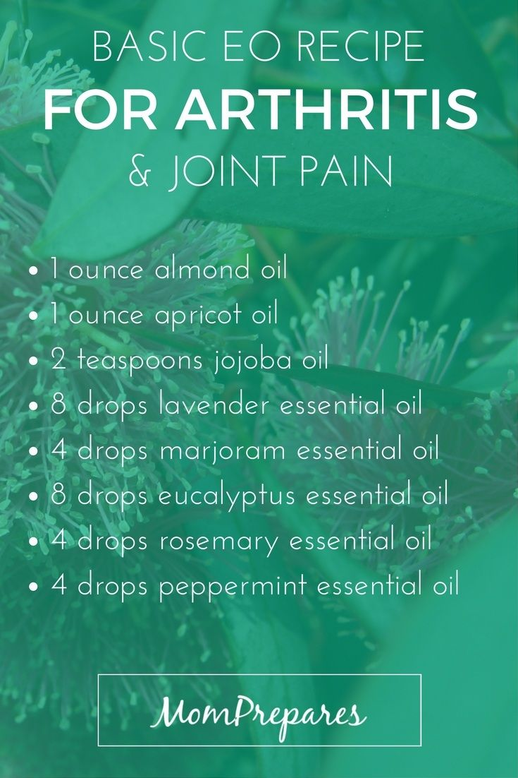 Essential Oils For Arthritis 5 Science Backed Recipes To
