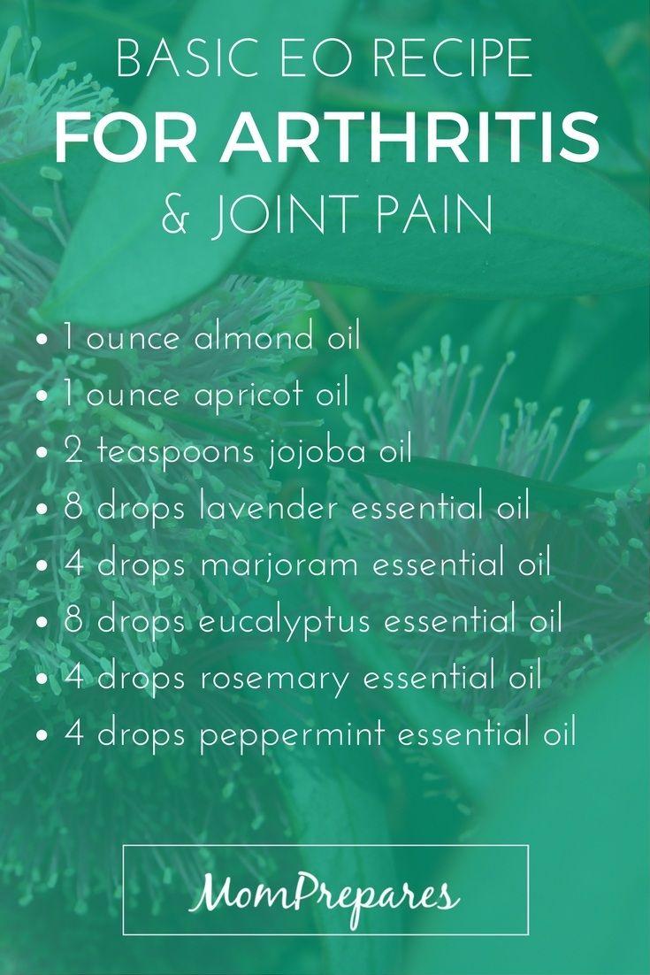 Essential Oils For Arthritis 5 Recipes For Inflammation