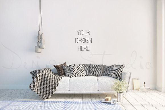 Interior PSD Living Room Photo By HisariDS Mockup Design On Creativemarket
