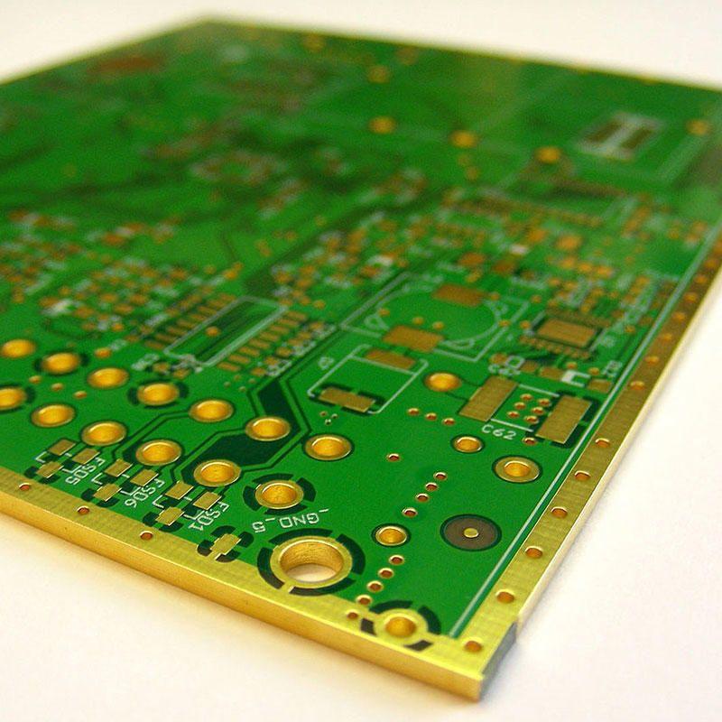 Pcb Edge Plating Plating Edges Circuit Board