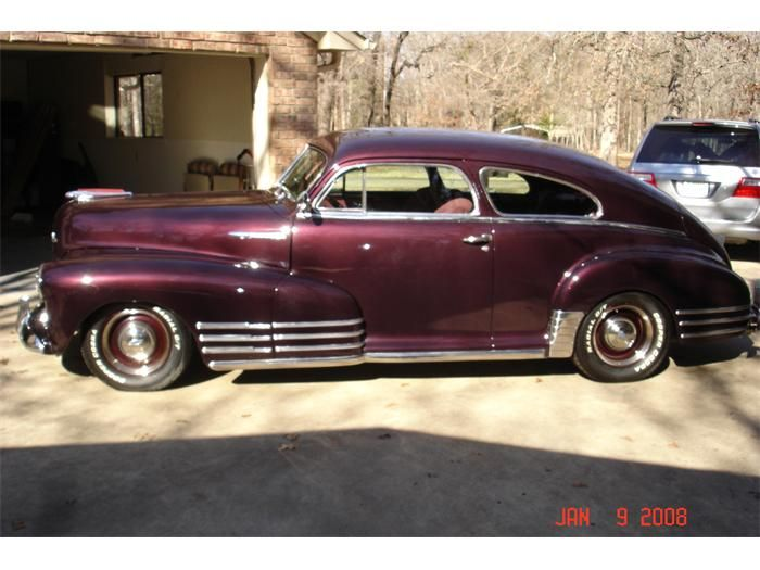 Pictures Of Vintage Cars Chevrolet 1948 Fleetline Fastback