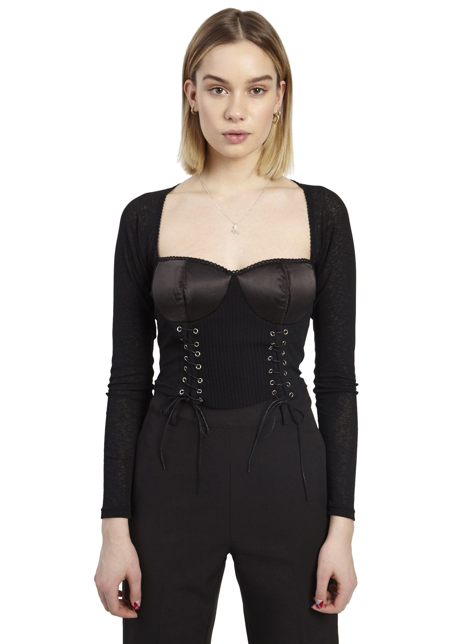 e96d1a7b1212 Archangel sweater corset top in 2019