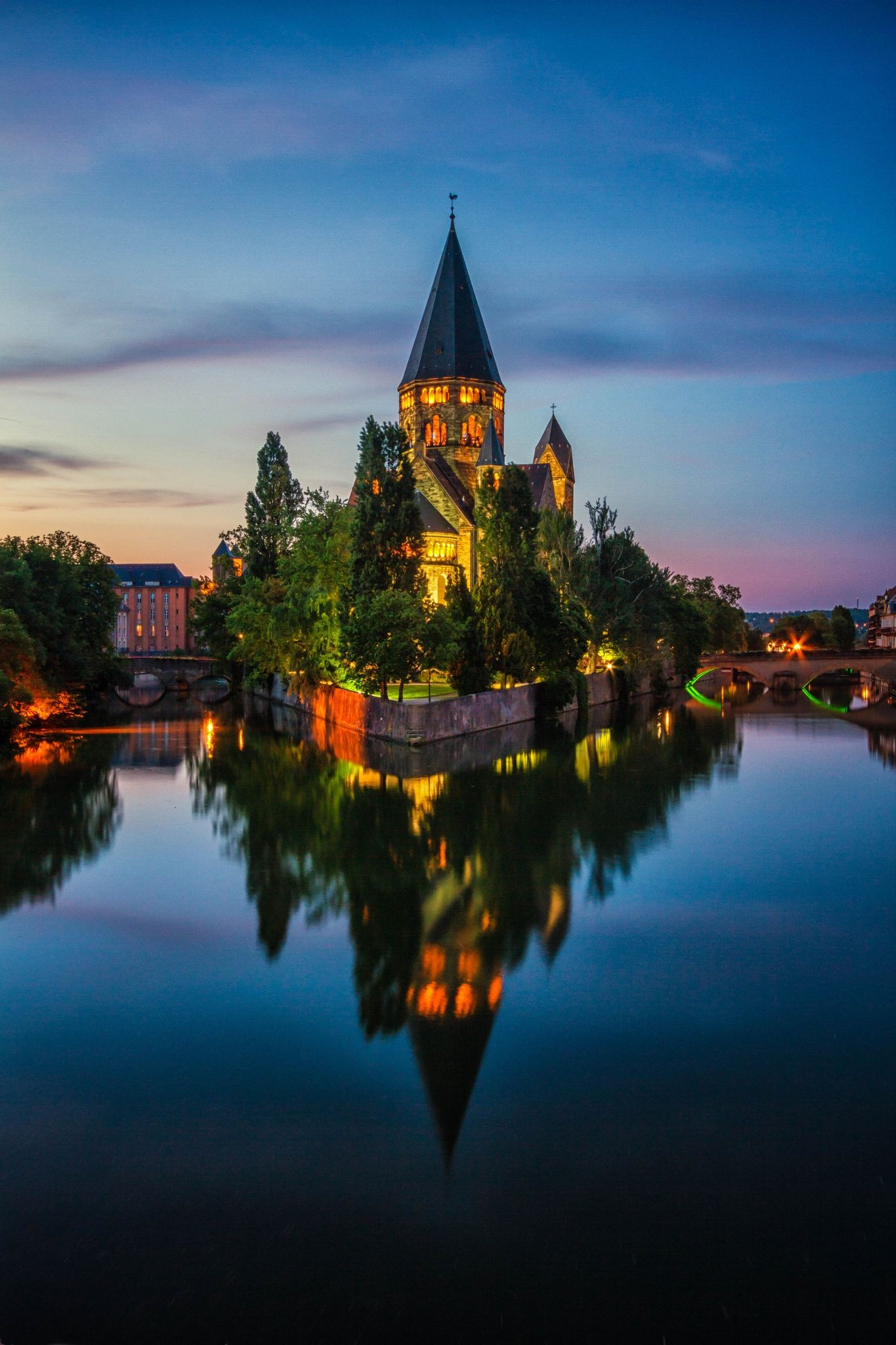 Metz, France by bisignano fabrice