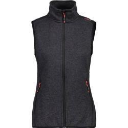 Cmp Damen Weste Woman Vest, Größe 44 In Antracite, Größe 44 In Antracite F.lli Campagnolo