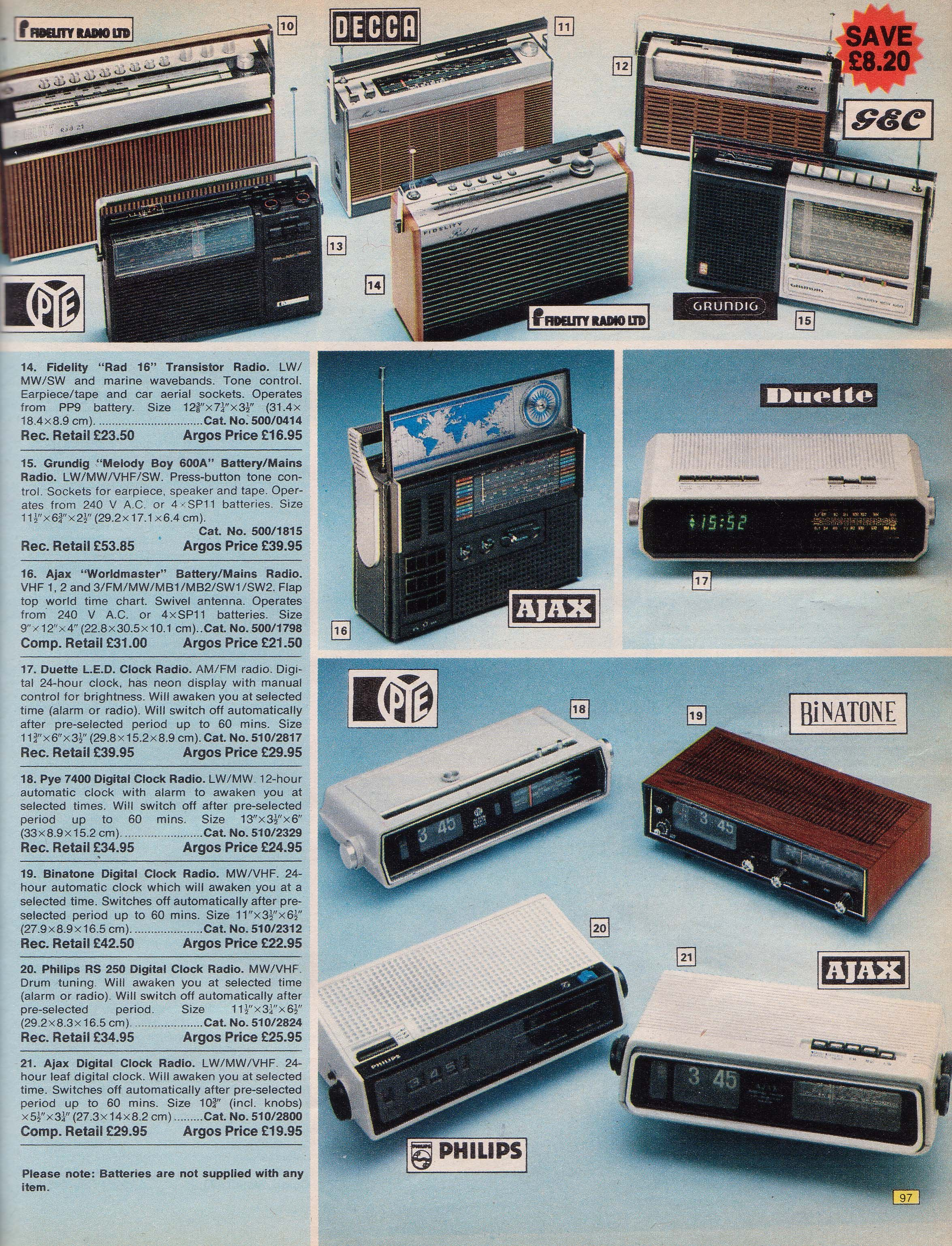 Page 97 | Old Argos catalogue of 1976 | Pinterest | Argos