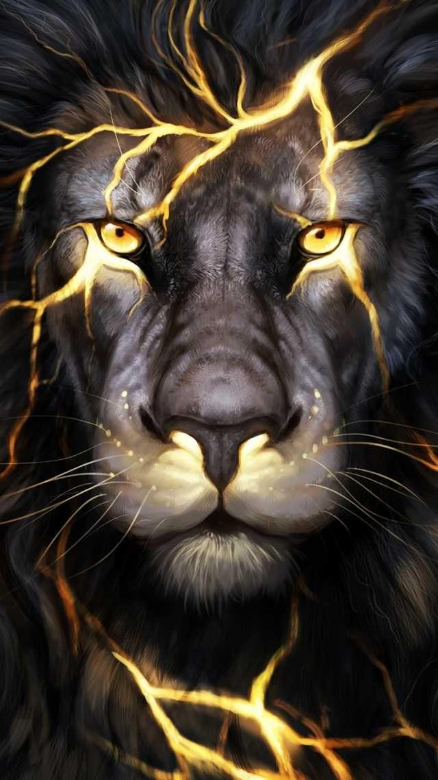 Just a cool 3D Lion graphic