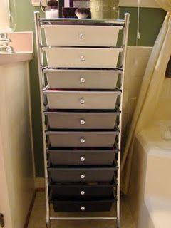 Makeup Nail Polish Storage With Images Makeup Storage Cart
