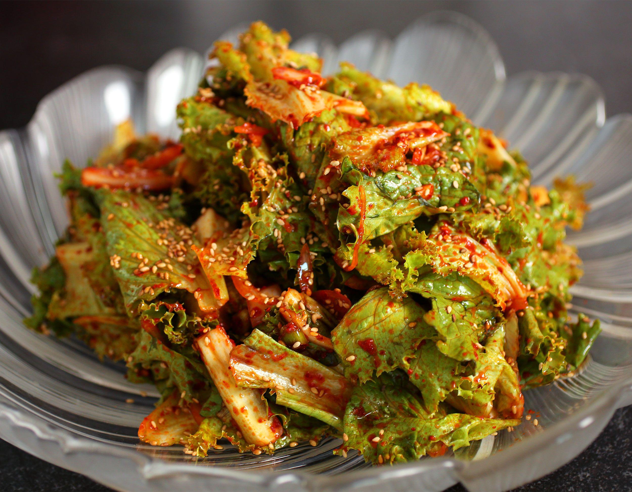 Sangchu Geotjeori Recipe Salads Korean Salad Recipe
