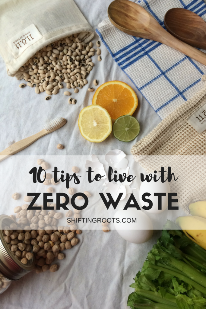 Committing to the zero waste lifestyle can seem daunting. I've come up with 10 tricks and tips for beginners (like me) to incorporate less waste in their life.