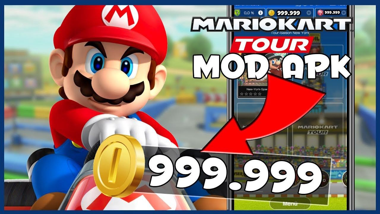 Mario Kart Tour Hack Discover Free Coins Android and iOS