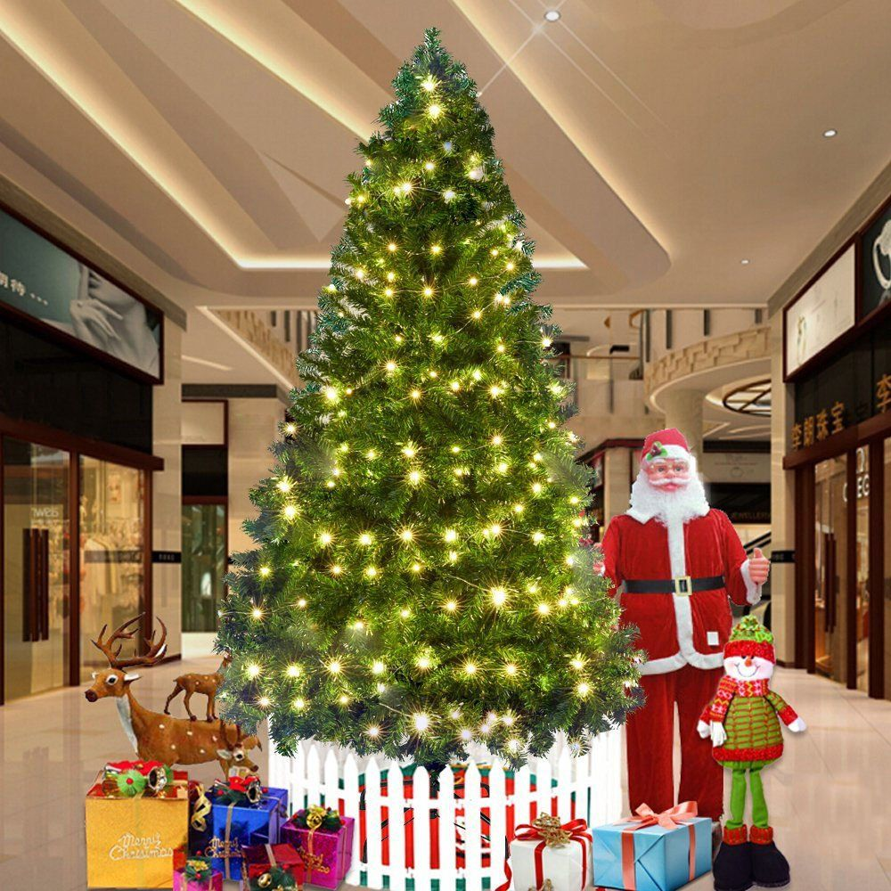 25759bd864c Dporticus 7 Ft Artificial Christmas Pine Tree with Solid Metal Legs and  Antidust Bag Holiday Season     To view further for this item