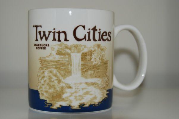 Oz Coffee Mug Cup Twin Cities Minneapolis St Paul Minnesota Starbucks Ceramic 16 Limited Edition Dishwasher And Microwave Safe