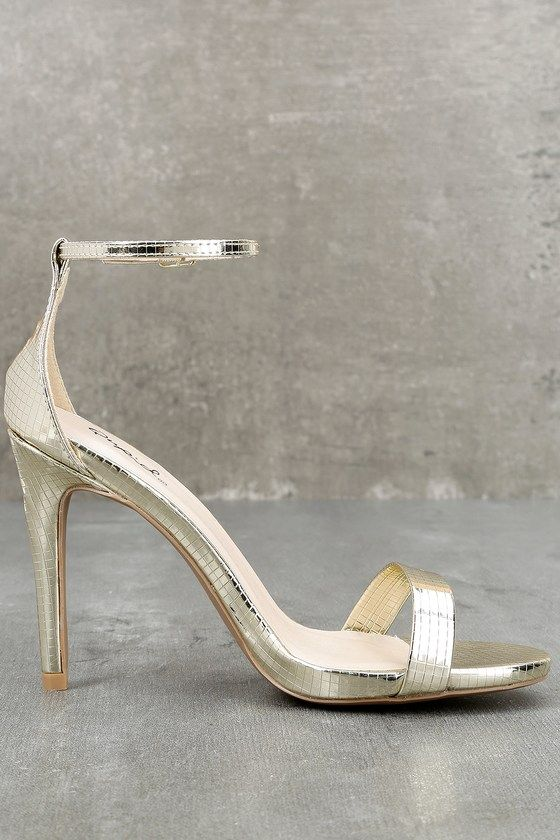 4d98518dbcb3c6 All-Star Cast Champagne Ankle Strap Heels 3