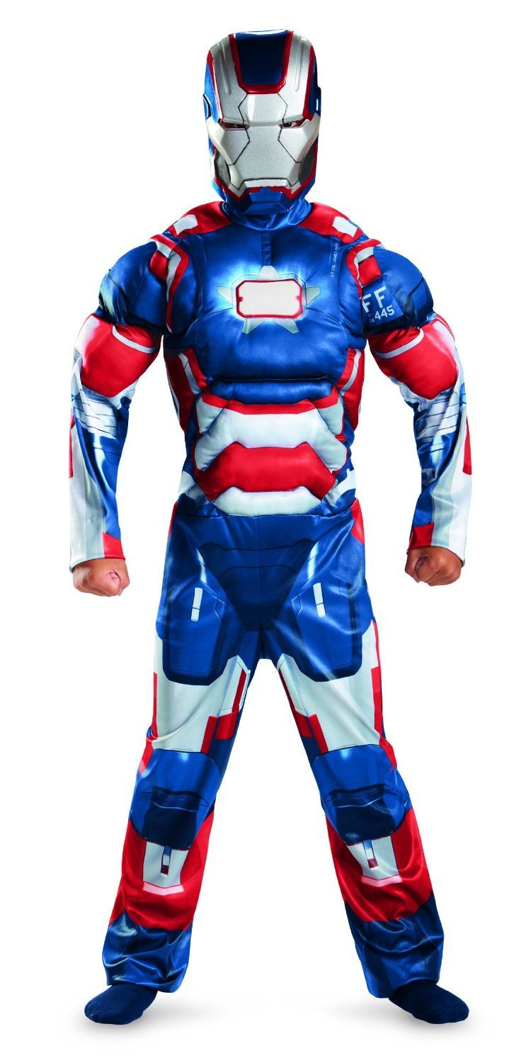 Black Friday Deal Marvel Iron Man 3 Patriot Boys Classic Muscle Costume from Disguise Costumes Cyber Monday  sc 1 st  Pinterest & Disguise Inc - Iron Man 3 Patriot Classic... | Best Gorgeous ...