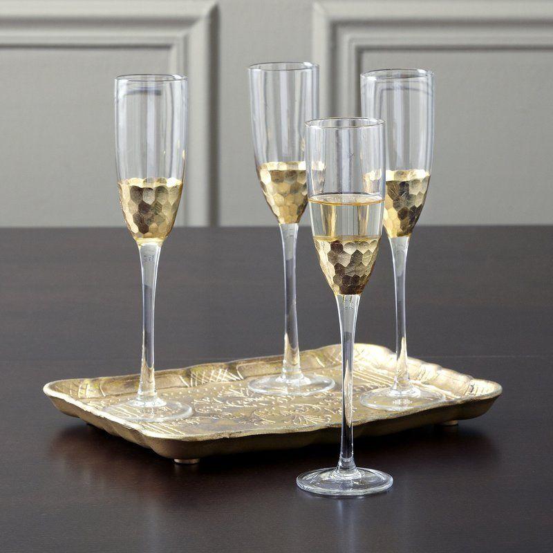 Lopez 8 Oz Crystal Flute Crystal Flutes Champagne Flute Set Flute Glass