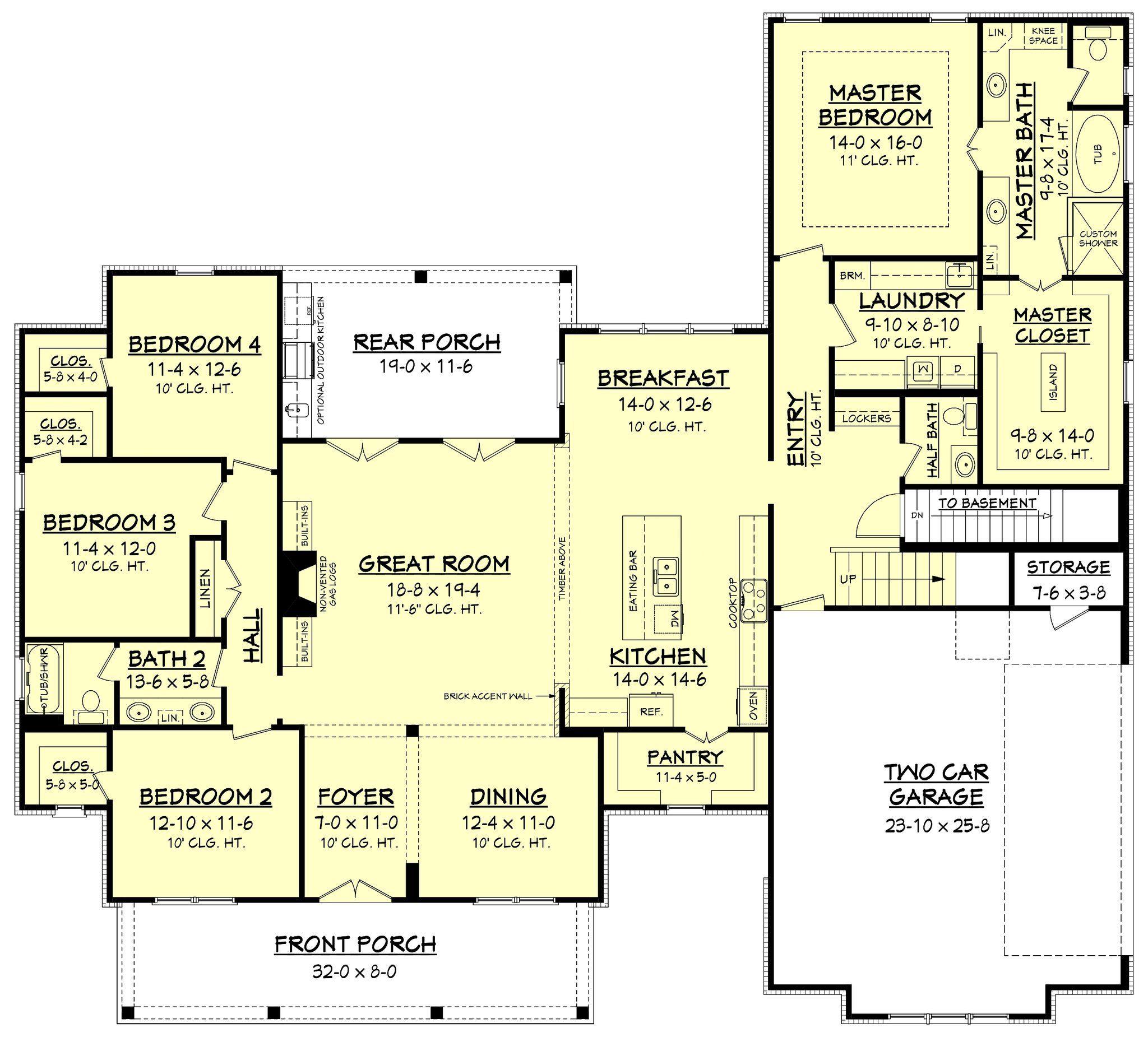 erin house plan beautiful планы дома и раздельные санузлы