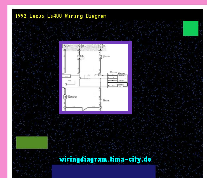 1992 lexus ls400 wiring diagram wiring diagram 17476