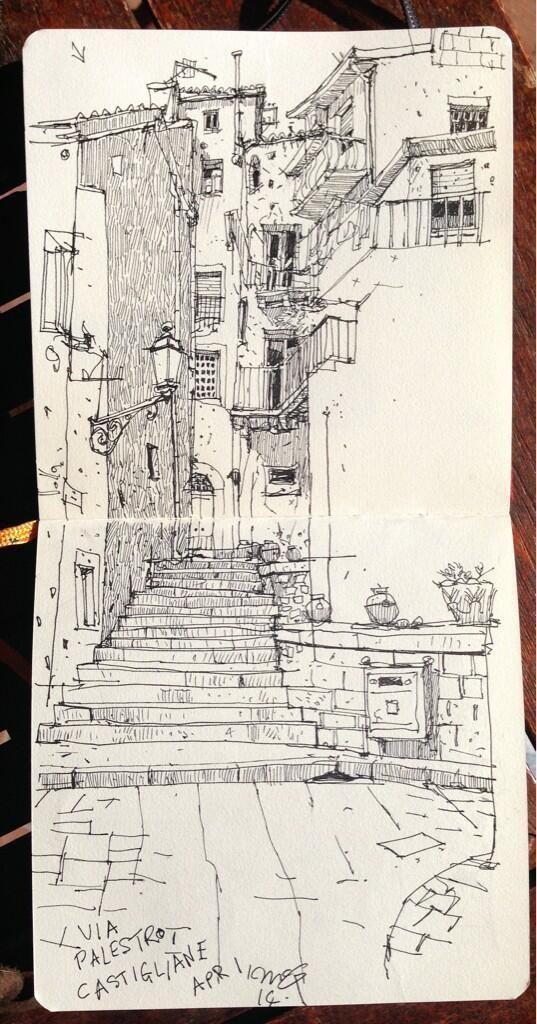 111 Wahnsinnige kreative kühle Dinge, die heute zu zeichnen sind 61 #paisajeurbano