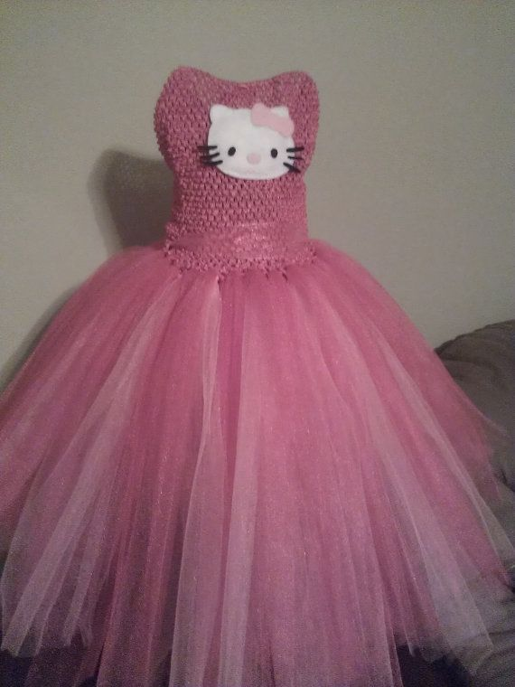 8c53d61da Pin by Tricia Nosworthy on Marlee party ideas | Dresses, Hello kitty ...