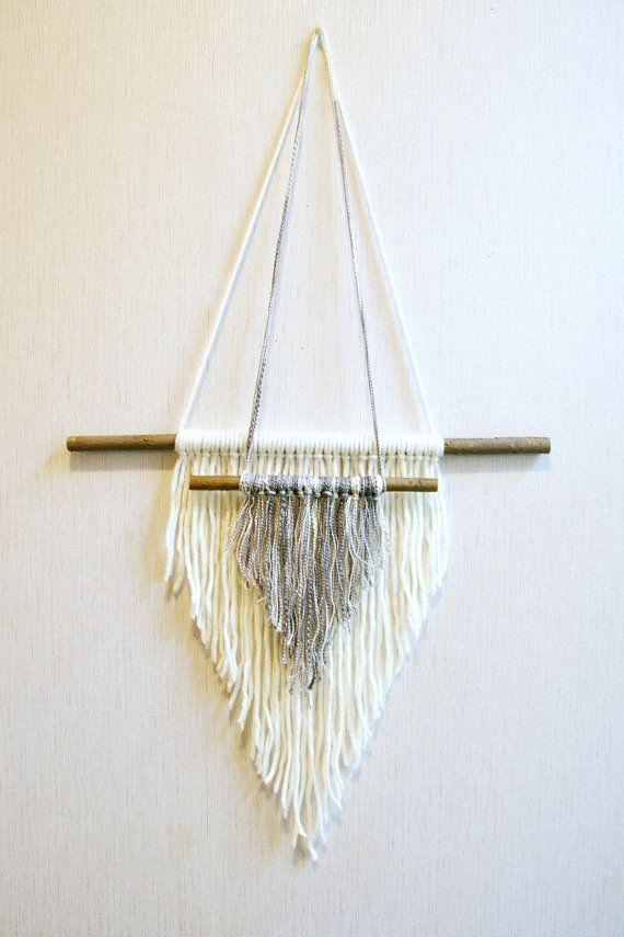 Items similar to Wall wall hanging, woven wall weaving, macrame hanging, wall weaving, hanging wall decor, weaving wall hanging, yarn art on Etsy