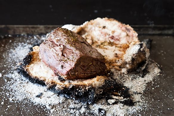 How to Make Salt-Crusted Beef Tenderloin Grilled in Cloth (Lomo al Trapo)