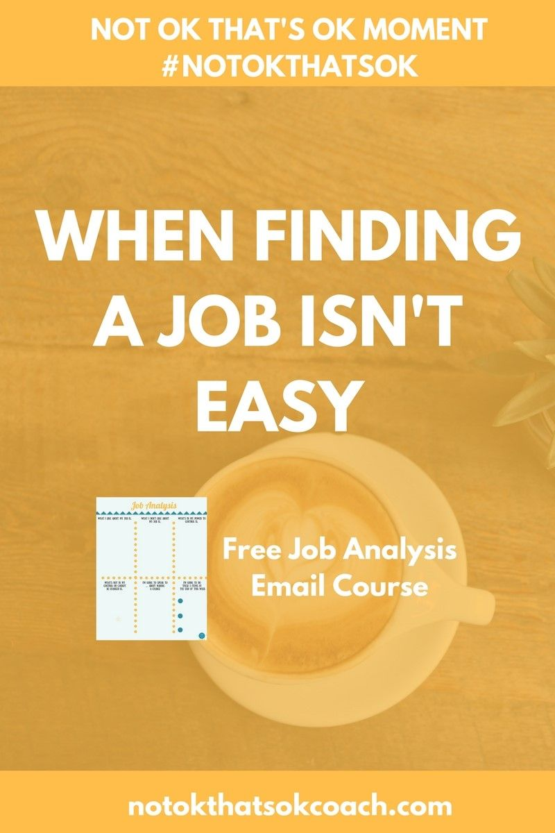what to do when you can t a job bit ly iqawb job when finding a job isn t easy job analysis course and pin for later