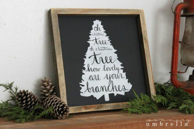 8 diy holiday home decor signs