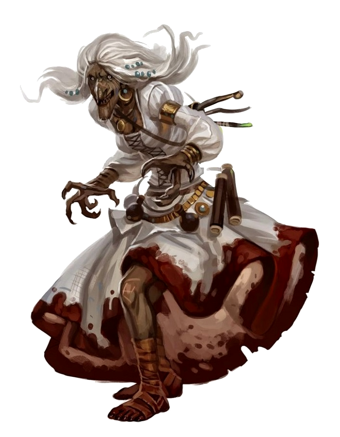 old gypsy hag - pathfinder pfrpg dnd d&d d20 fantasy | pathfinder