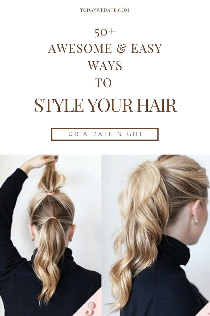 50 Adorable Diy Hairdos That Captures Attention Hairstyles Date Night Hairstyles First Date Hairstyles Pony Hair Styles Date Hairstyles Long Hair Styles