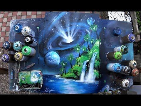 Youtube Spray Paint Art