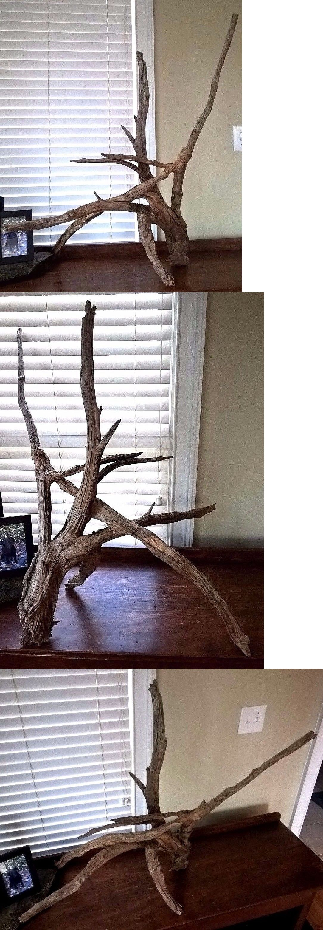 Decorations 66789 Extra Large Floor Standing Driftwood Rustic Home Decor Sculpture Art 674