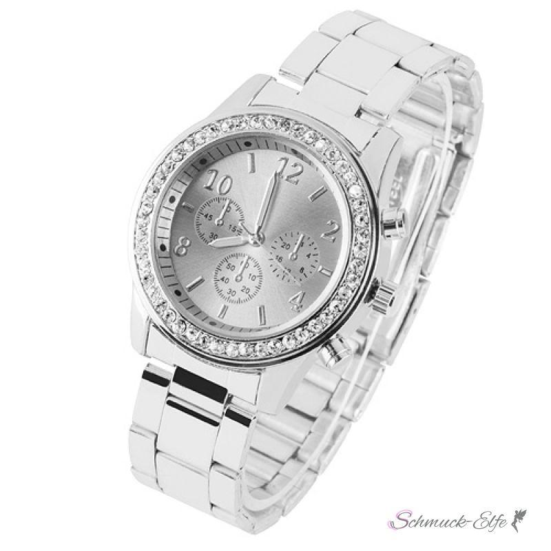 Armbanduhr damen gross