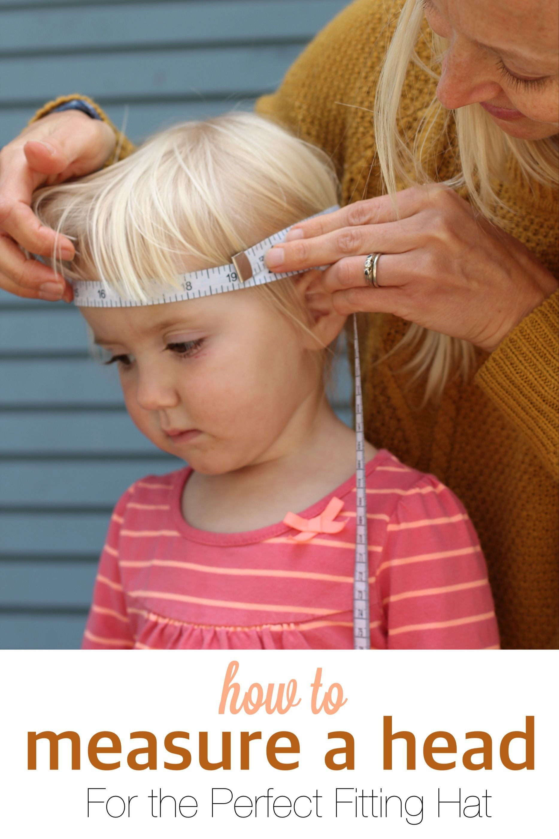 How to measure your kids heads for buying the perfect