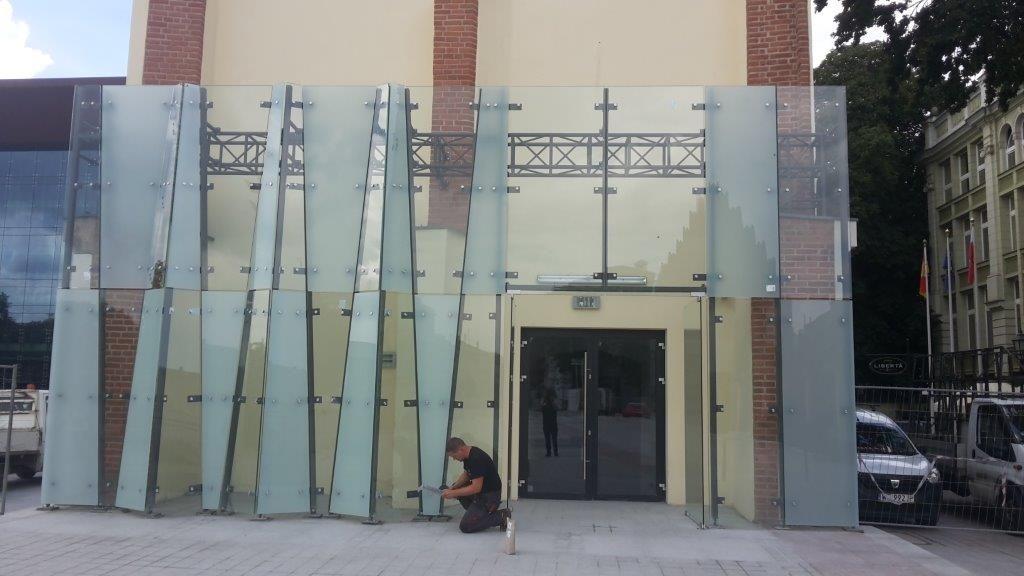 Sesko Theater Museum / facades, windows, aluminum and steel doors …