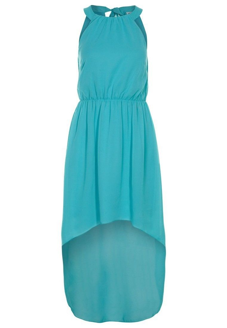 Vero Moda Robe de soirée - turquoise - ZALANDO.FR   robe fashion ... 61580fd3a7a