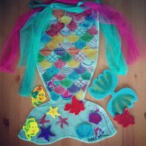 Ariel's mermaid tail kit from Seedling #ariel #mermaid #mermaidcostume #disney #seedling #Sebastian #Flounder #thelittlemermaid