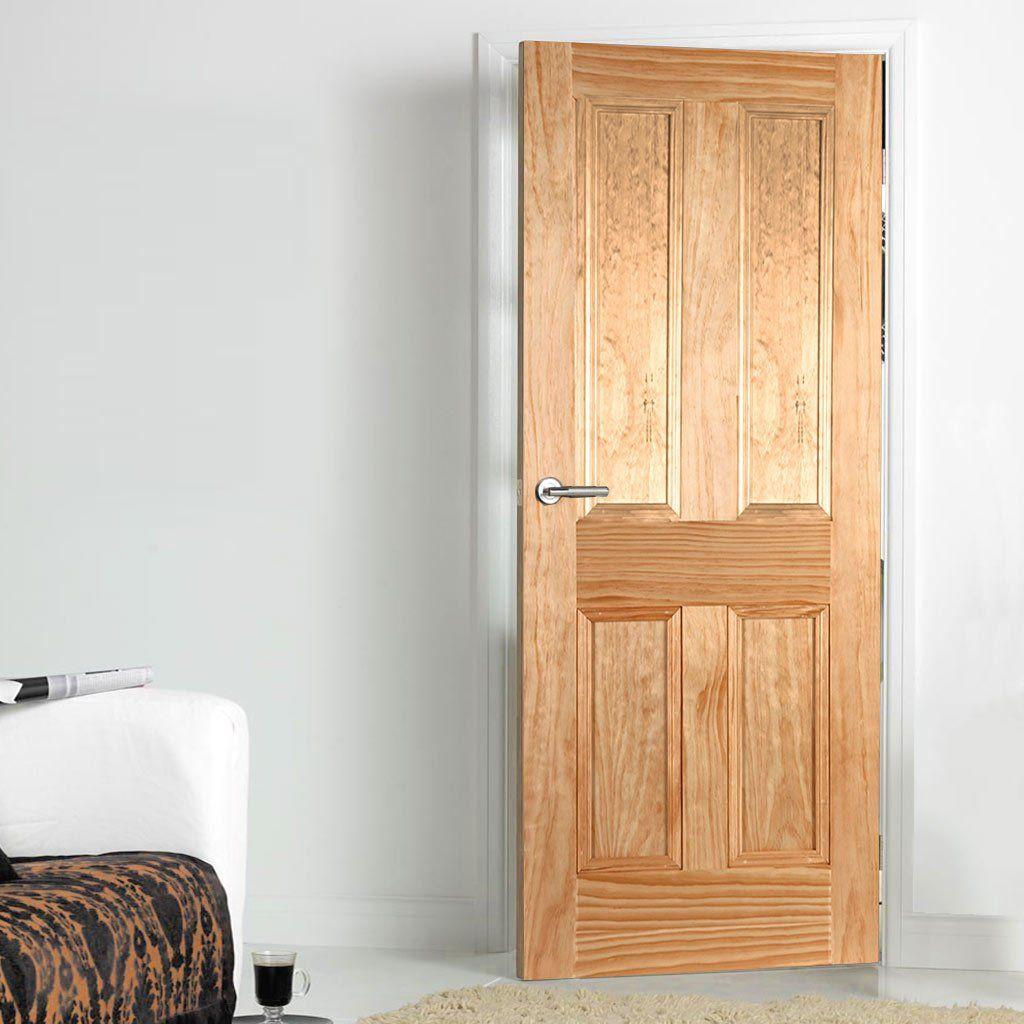 Islington 4 Panel Radiata Pine Door | Mendes Panel Doors & Islington 4 Panel Radiata Pine Door | Mendes Panel Doors | Pine ...