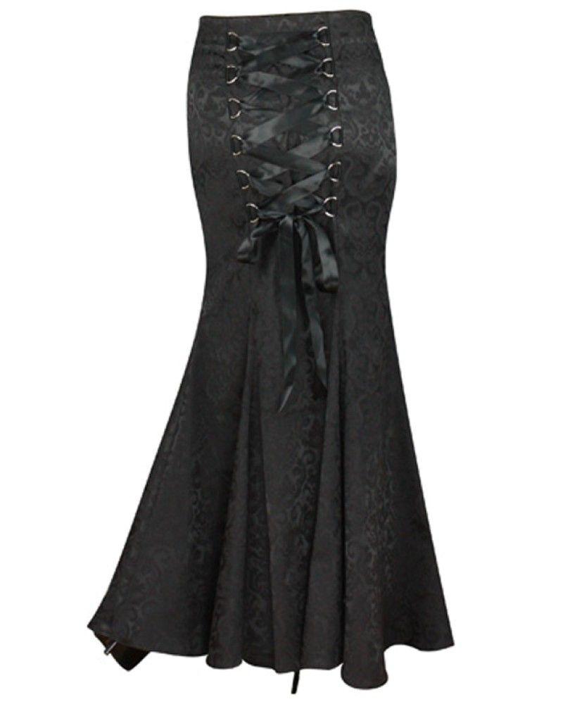 Jacquard long fishtail skirt skirtspetticoats column